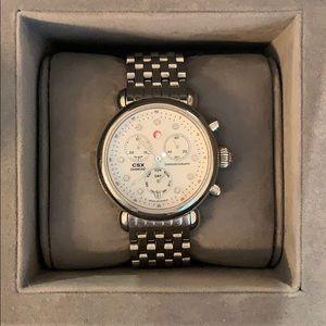Michele Watch with Diamond detail